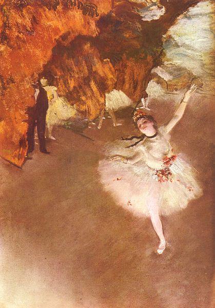 """Edgar Degas, """"Primabalerina"""""""