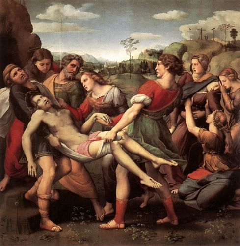 Złożenie do grobu, Rafaela Santi