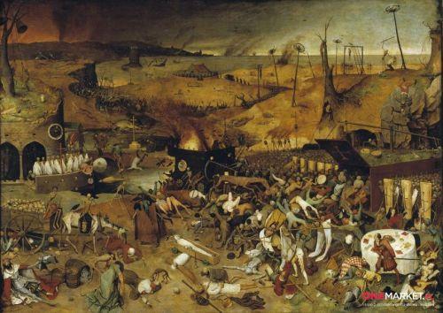 Triumf śmierci, Pieter Bruegel